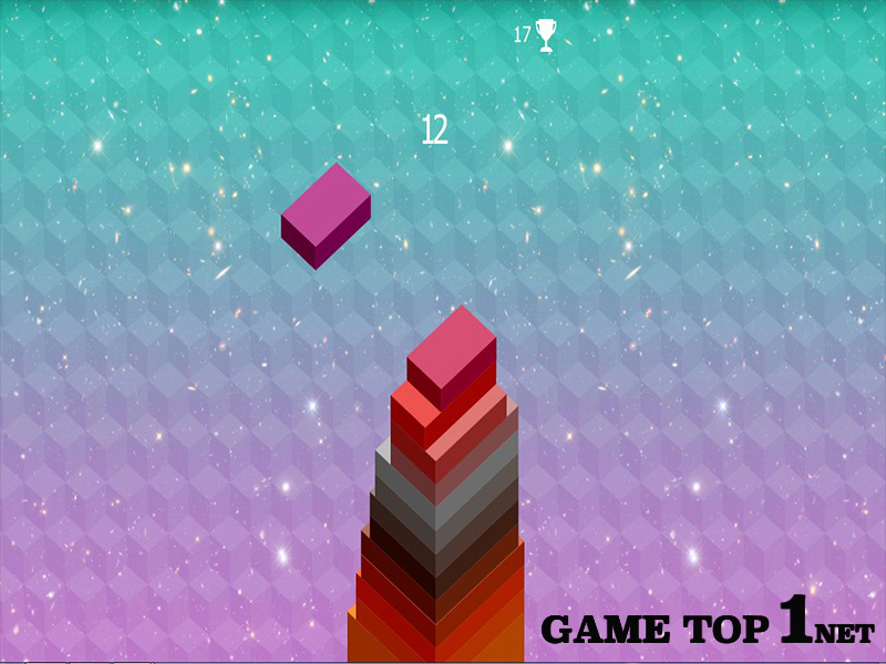 Game Xây Tháp Bằng Hộp - Stack Tower Classic