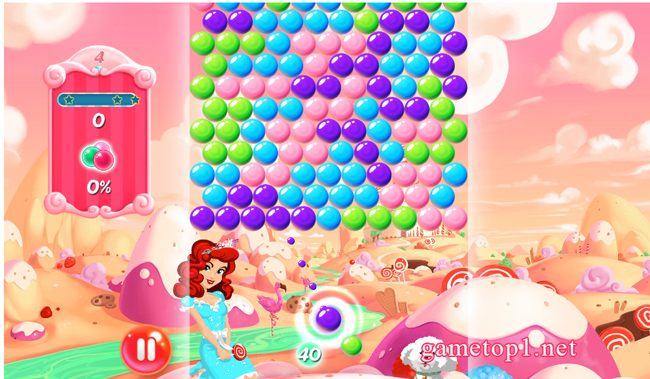 Game Kẹo bong bóng - Candy Bubble