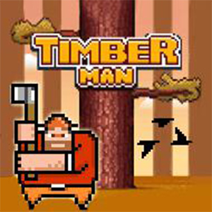 Game Tiều phu đốn củi - Timber Man