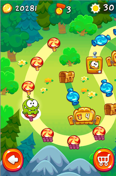 Game Cut the Rope 2